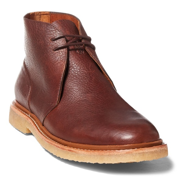 Ralph Nwt By Polo Leather Lauren Boots Karlyle Chukka yN0m8Ovnw